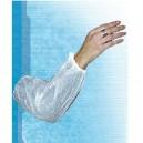Manchette polyéthylène blanche