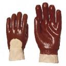 Gants PVC rouge - La paire