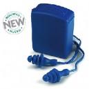 Bouchons antibruit réutilisables BUP bleu
